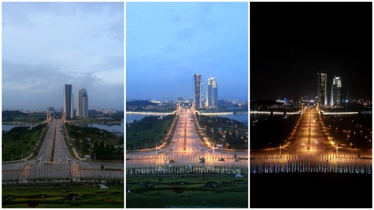 Putrajaya, the venue.